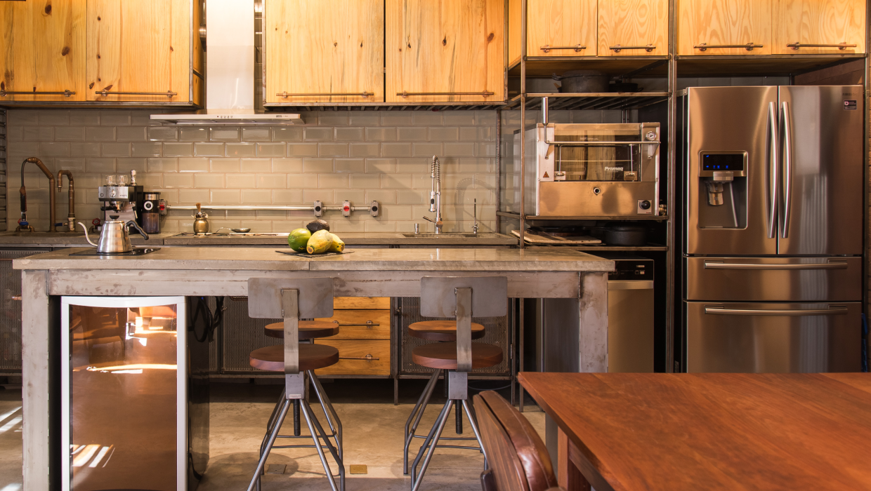 Tem apartamento querendo ganhar você pela cozinha